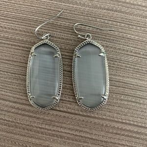NWOT Silver Elle Kendra Scott Earrings